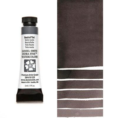 Neutral Tint 5ml Tube Daniel Smith Extra Fine Watercolor Tints