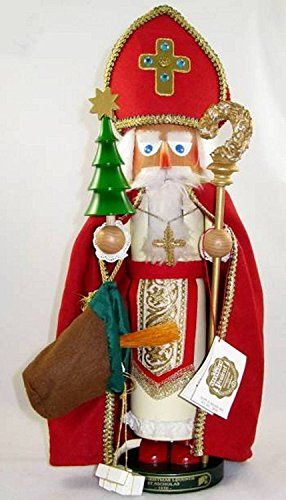Steinbach Family NutcrackerSt Nicholas 2nd in Christmas Legends Series Signed by Karla Steinbach Retired -- Check out the image by visiting the link. (This is an affiliate link) #ChristmasNutcrackers
