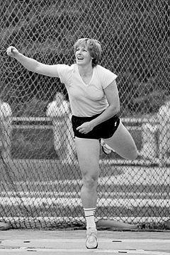 Ria Stalman 1984 Olympics Womens Discus Champion Sportler