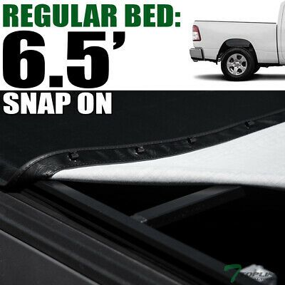 Tonneau Cover Hidden Snap for Dodge Dakota Extended Cab Pickup Truck 6.5ft Bed