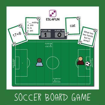 Editable Soccer Board Game Board Games Fun Board Games Football Board Game