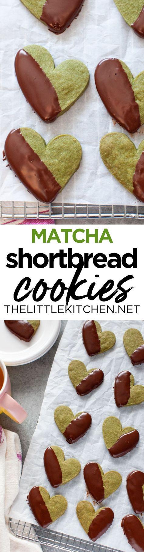 (AD) Make these wonderful matcha shortbread cookies with #NielsenMassey Madagascar Bourbon Pure Vanilla Extract! (sponsored pin) #BetterYourBake #matcharecipe #shortbreadcookies