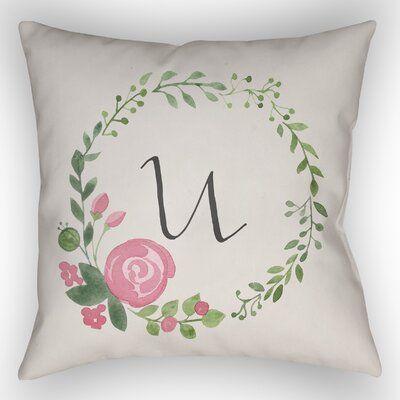 Alcott Hill Lyle Indoor Outdoor Throw Pillow Throw Pillows Pillows Square Throw Pillow