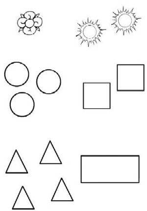 100 Figuras Geometricas Infantiles En Dibujos Para Ninos Formas Geometricas Art Word Search Puzzle Diagram