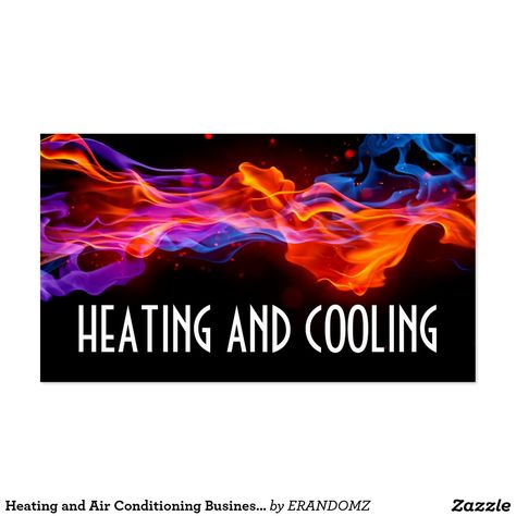 Heating and air conditioning business card business cards and business reheart Image collections