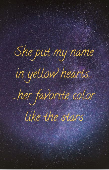 Yellow Hearts Lyrics Songs Tik Tok Love Stars Art