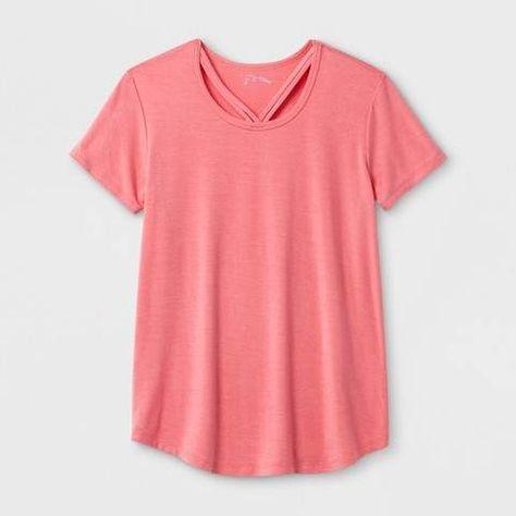79911c805e262 art class Girls  Short Sleeve Bar Front T-Shirt - art class Pink   Scoop Style Collar