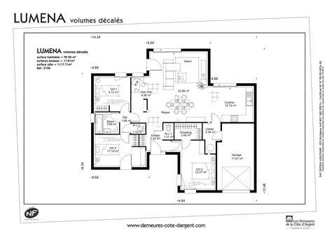bory (bory880) on Pinterest - plan de maison en l de plain pied gratuit