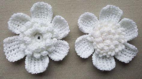 Details about handmade white flower applique embellishment