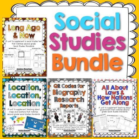 Social Studies Bundle