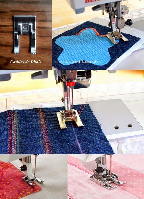 35 Ideas De Pie Para Maquina De Coser Maquina De Coser Trucos Para Coser Accesorios De Costura