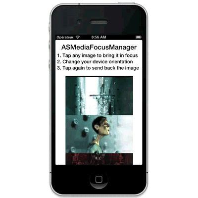 GitHub - autresphere/ASMediaFocusManager: iOS library to