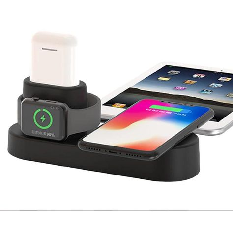 3 in 1 Aluminum Alloy Charging Station