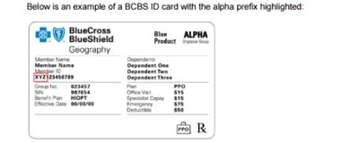 Bcbs Alpha Prefixes List And Claim Submission Address Updated