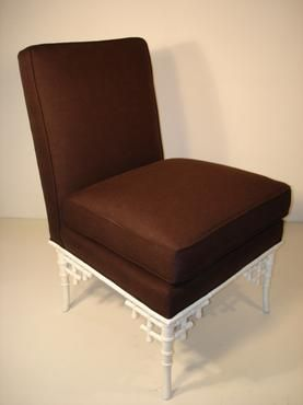 Cool Description Upholstered Tucker Slipper Chair With Chocolate Bralicious Painted Fabric Chair Ideas Braliciousco