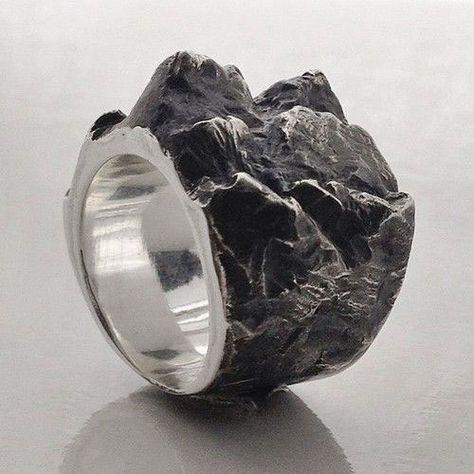 White Dragon Ring Story of o-Shades of Grey-edelstah-negro-unisex