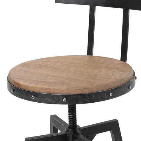 Astonishing Sylvania Adjustable Height Swivel Bar Stool In 2019 Black Gamerscity Chair Design For Home Gamerscityorg