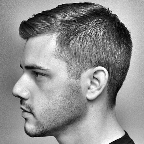 Men's Crew Cut Comb Over jungs, 25 Best Men's Crew Cut Hairstyles Guide) Trending Mens Haircuts, Cool Mens Haircuts, Thin Hair Haircuts, Boy Hairstyles, Men's Haircuts, Hairstyle Men, Formal Hairstyles, Mens Haircut Styles, Men Haircut Short
