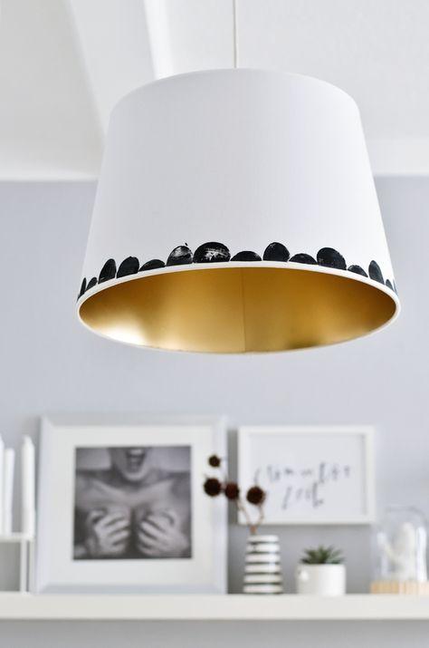 s i n n e n r a u s c h: IKEA Hack | JÄRA Lampenschirm Fokus liegt auf dem schönen Bild im Hintergrund :)