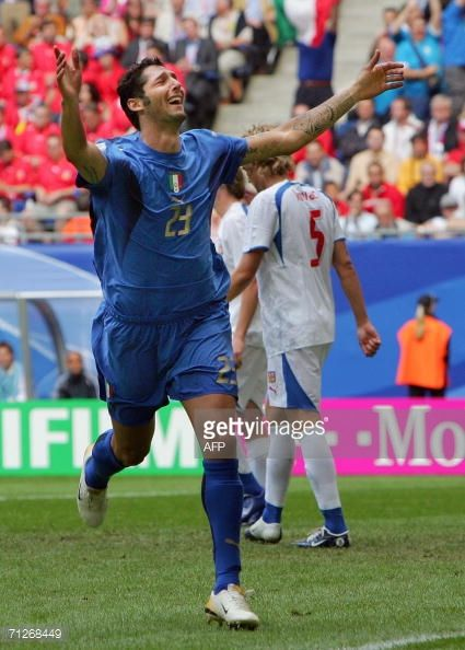 Marco Materazzi 2006 Pictures And Photos Marco Materazzi Legends Football Italy Soccer
