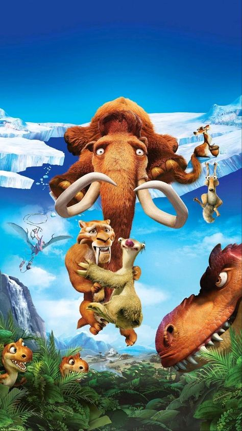 Ice Age Animated Movie Funny HD Wallpaper