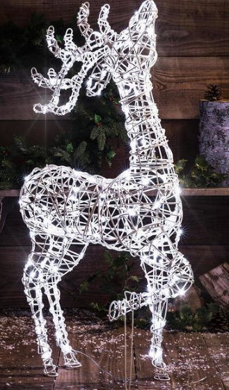 Buy Outdoor Wicker Reindeer With Led Lights The Worm That Turned Revitalising Your Outdoor Space Outdoor Christmas Decorations Outdoor Christmas Diy Christmas Lights