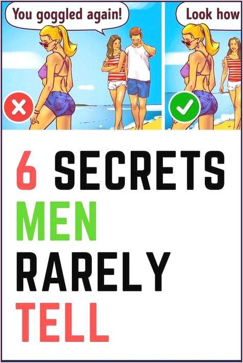 6 Secrets Men Rarely Tell
