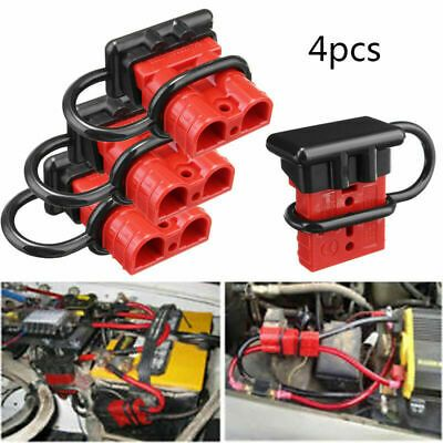 4x 8gauge Battery Quick Connect Disconnect Wire Harness Plug Winch Trailer 50a Ebay In 2020 Battery Terminal Winch Ebay