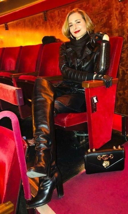 Pin von Stella auf boots in 2019 | Overknee stiefel leder