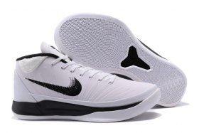 best service 1e895 46f6f Newest Nike Kobe A. D. Mid Oreo White Bryant Flyknit AD Mens ...