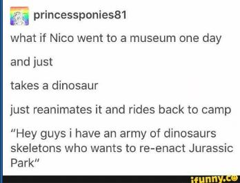 Best of Nico Di Angelo - Nico: The Dinosaur Rider - Wattpad