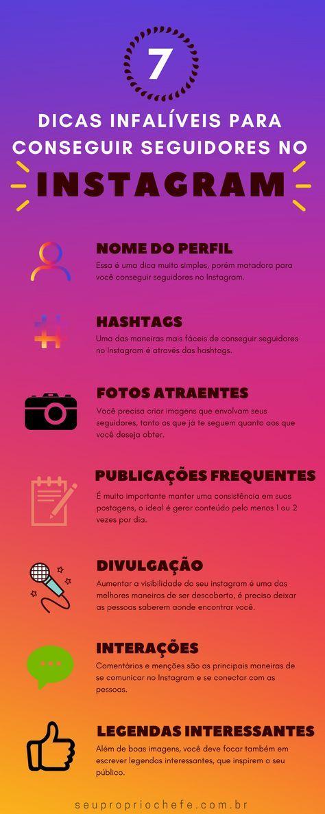 Como Conseguir Seguidores No Instagram 7 Dicas Infaliveis