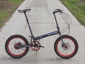 Monkey Ride Bike Friday With Belt Drive And Rohloff Speedhub 500
