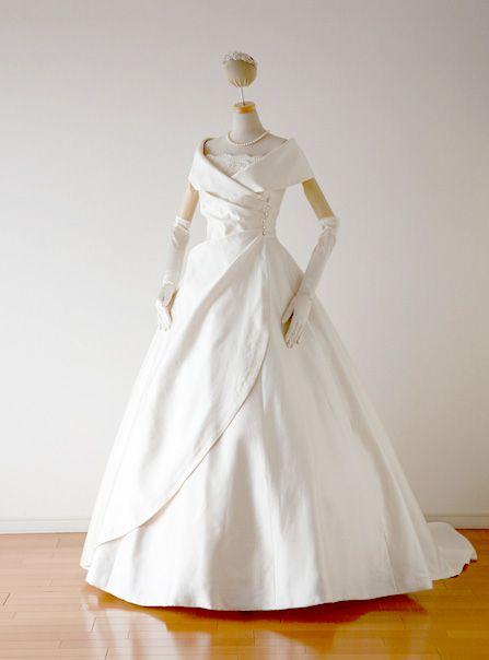 肩ありドレス11 2020 長袖 ウェディングドレス ドレス ファッション