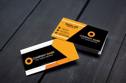 Photo Studio Visiting Card Free Vector Coreldraw Graphics Design Templates P Company Business Cards Business Card Template Business Card Templates Download