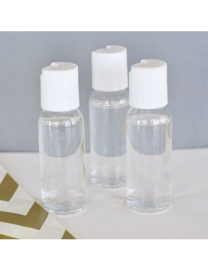 Diy Blank Hand Sanitizer Help Your Guests Clean Up After