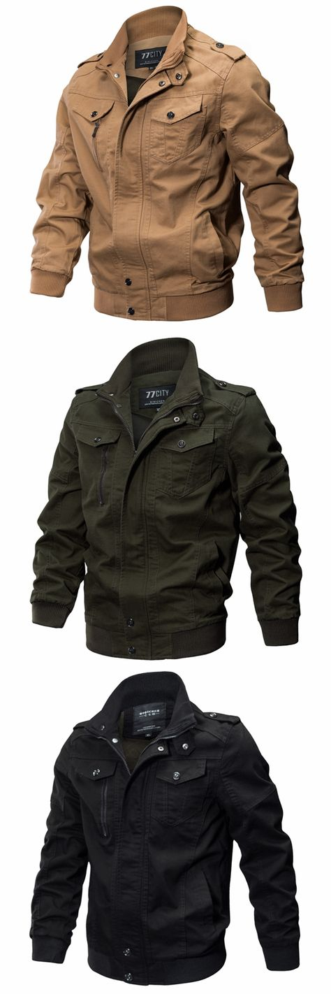 55% Off & Free Shipping Epualet Tactical Military Washed Cotton Plus Size XS-4XL Outdoor Work Autumn Casual Jackets for Men
