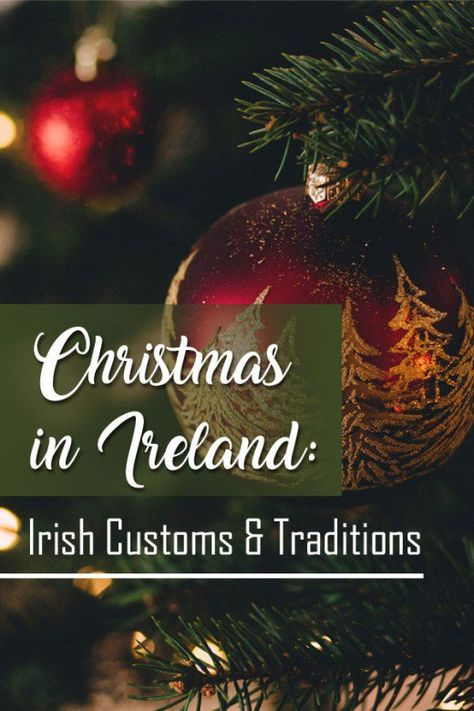 Learn everything there is to know about celebrating Christmas in Ireland from customs & traditions to festivities & Irish holiday fare. Christmas Events, Christmas Holidays, Christmas Decorations, Xmas, Christmas Ideas, Christmas Crafts, Winter Holidays, Holiday Ideas, Christmas Bulbs