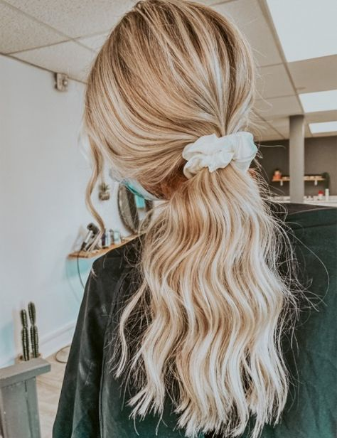 Face Hair, Dream Hair, Messy Hairstyles, Headband Hairstyles, Hair Dos, Gorgeous Hair, Hair Inspo, New Hair, Beach Waves