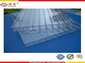 Twinwall Polycarbonate 8 Mm 4 Ft X 8 Ft Sheets Uv Protected 10 Years Warranty Plastic Roofing Corrugated Plastic Roofing Corrugated Plastic