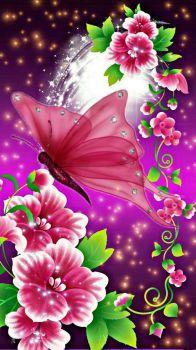 Butterflies & Flowers (112 pieces)