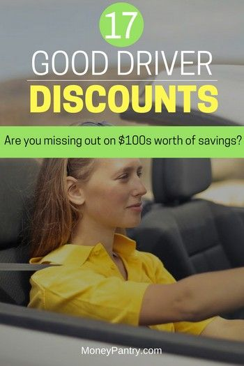 Good Driver Discounts 17 Insurance Companies That Give You