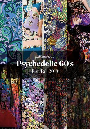 The Patternbank team bring you part 2 of our key Print & Pattern Trends from the Pre Fall 2018 Catwalk shows, alongside our curated collections of tren