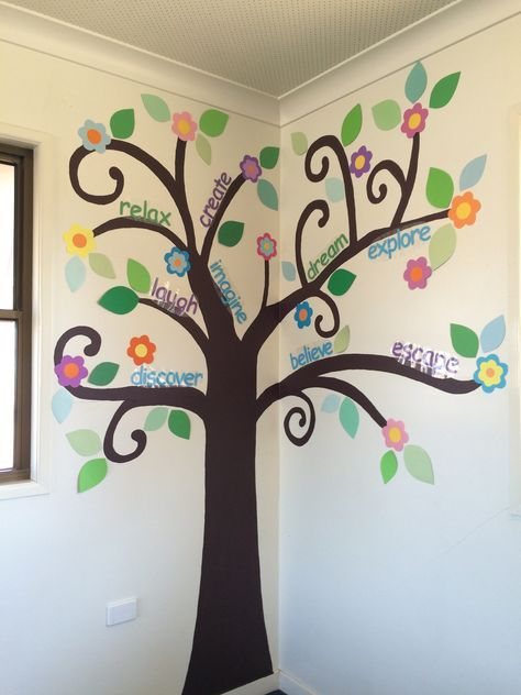 17 Ideas For Paper Tree On Wall For Classroom In 2020 Tree Wall Art Family Tree Art Paper Tree Classroom