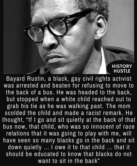 10 Unbelievable History Facts You Really Need to See -  Bayard Rustin – 10 Unbelievable History Facts You Really Need to See  - #Facts #History #Unbelievable
