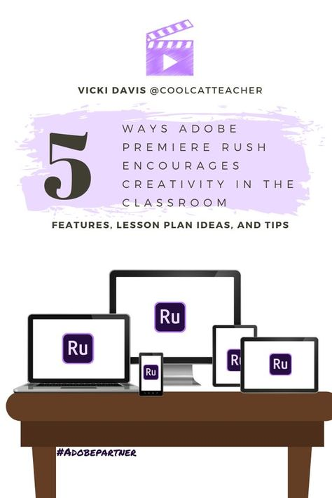 Creativity in the Classroom with Adobe Premiere Rush