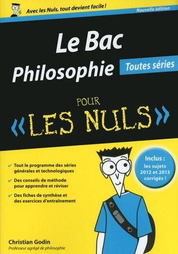 Bac Philosophie 2015 Pour Le Nul Top Book Thi Conscience Et Inconscient Dissertation Pdf