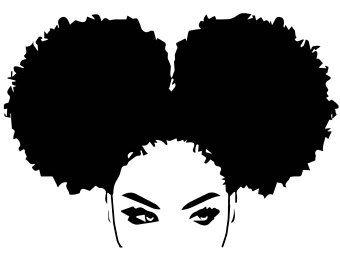Image Result For Black Women Afro Silhouette Png Black Woman Silhouette Afro Art Black Girl Magic Art