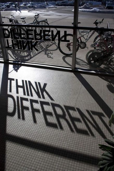 just love the look - its different, think its the words and how they play on the window and on the ground
