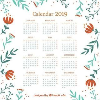 Calendario 2919 Para Imprimir.Los Mejores Calendarios 2019 Gratis Para Imprimir 2919